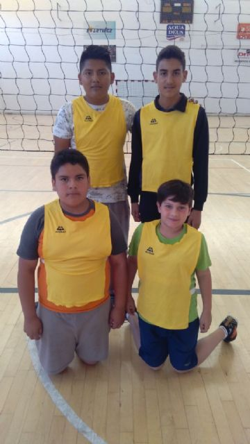 The Santa Eulalia School gets the first place in the Local Stage of School Sports Minivoley, Foto 3
