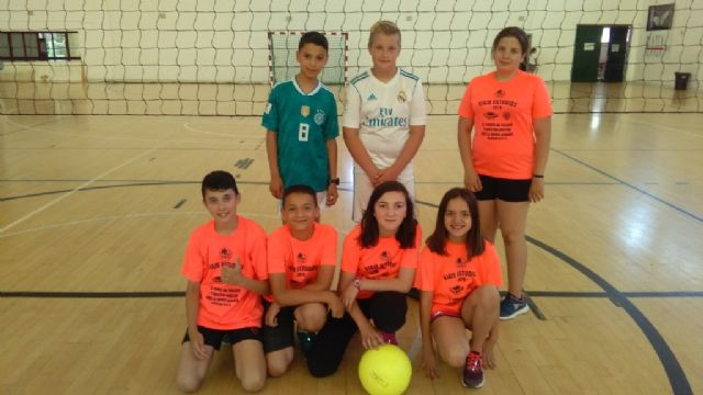 The Santa Eulalia School gets the first place in the Local Stage of School Sports Minivoley, Foto 6