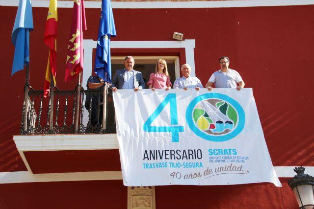 El Ayuntamiento de Alhama conmemora el 40 aniversario del Trasvase Tajo-Segura, Foto 2