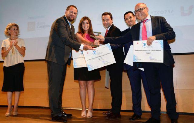 El proyecto de transformación urbana 'Murcia Río', galardonado en los II Premios Obra Civil - 1, Foto 1