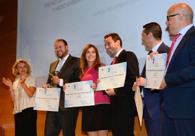 El proyecto de transformación urbana 'Murcia Río', galardonado en los II Premios Obra Civil - 2, Foto 2
