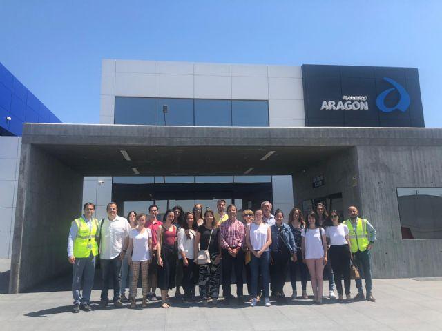 El proyecto de Turismo Empresarial de la UMU lleva a la comunidad universitaria a grandes empresas de la Región - 1, Foto 1