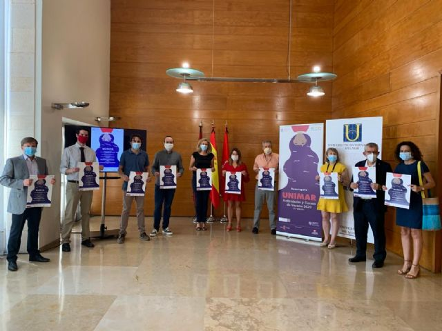 El Ayuntamiento aborda junto a la Universidad Internacional del Mar las claves de la Agenda Urbana, la gestión sostenible de la huerta de Murcia y el arrabal de la Arrixaca - 1, Foto 1