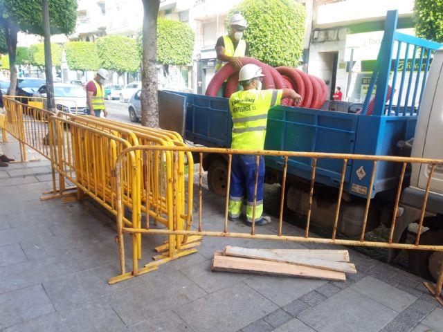 Comienza la instalación de las primeras estaciones de recarga de vehículos eléctricos en Alcantarilla - 1, Foto 1