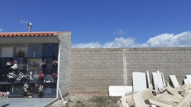 """[Se autoriza el proyecto para construir 40 nuevos nichos en el Cementerio Municipal """"Nuestra Señora del Carmen"""" de Totana"""
