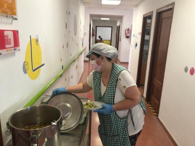 [Prorrogan un año el contrato del servicio de comedor-catering de los dos Centros de Día para la Discapacidad