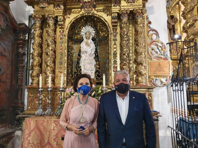Tana García Mínguez es proclamada Camarera de la Santísima Virgen de los Dolores y Presidenta de la Asociación Nuestra Señora de los Dolores - 1, Foto 1