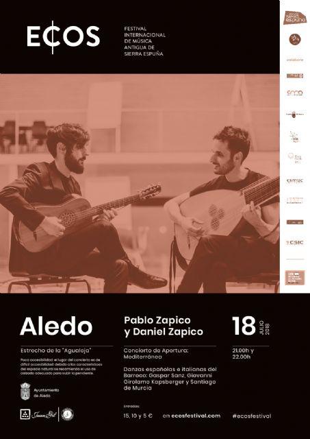 La Mancomunidad de Sierra Espuña estrena hoy en Aledo la tercera edición de ECOS Festival - 1, Foto 1
