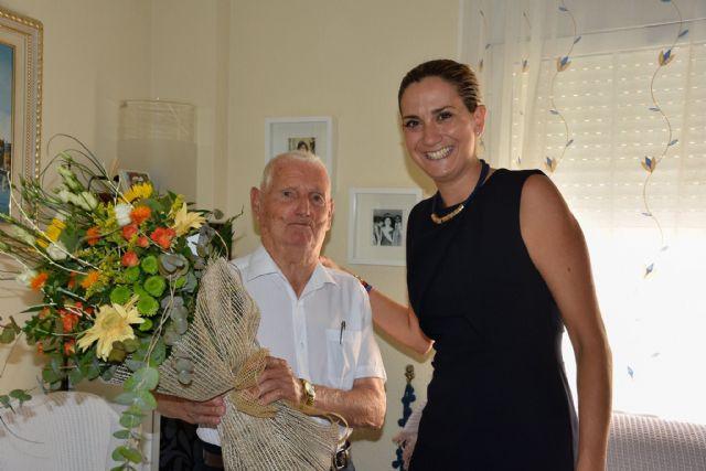 La Alcaldesa felicita al algaidero Daniel López González que hoy cumple 100 años - 2, Foto 2
