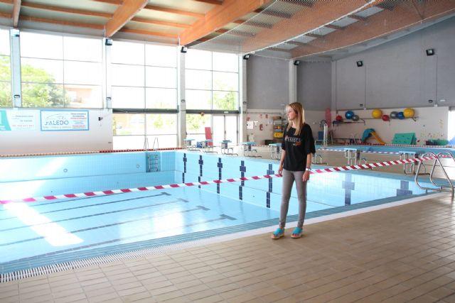 Comienzan las obras de sustitución de la cubierta de la piscina climatizada, Foto 2