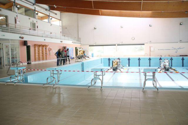 Comienzan las obras de sustitución de la cubierta de la piscina climatizada, Foto 7