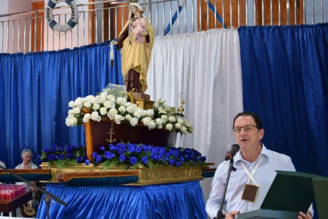 Una multitudinaria celebración arropa a la Virgen del Carmen en Puerto de Mazarrón, Foto 2
