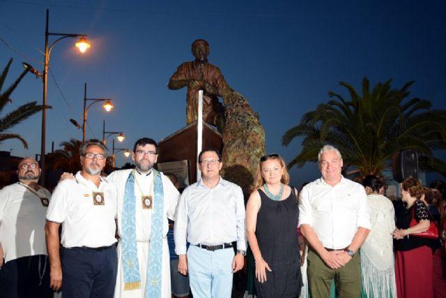 Una multitudinaria celebración arropa a la Virgen del Carmen en Puerto de Mazarrón, Foto 3