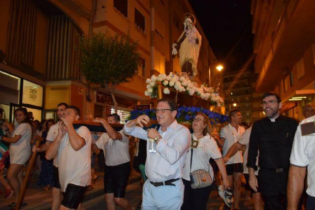 Una multitudinaria celebración arropa a la Virgen del Carmen en Puerto de Mazarrón, Foto 4