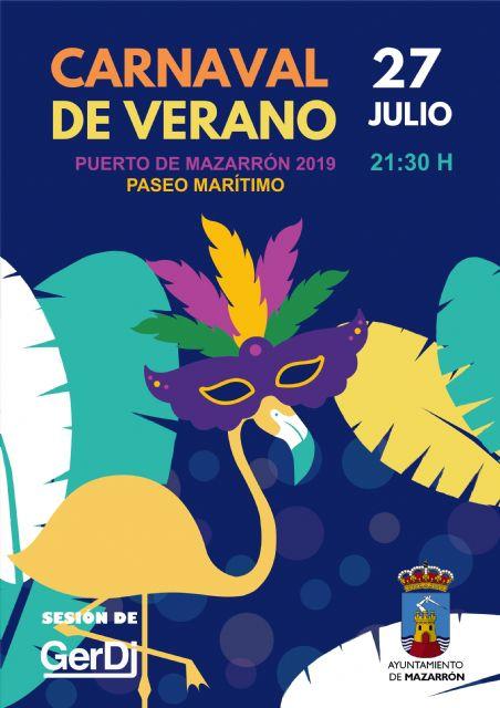 19 comparsas participarán en el Carnaval de Verano de Puerto de Mazarrón