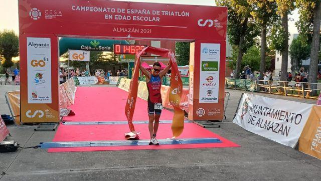 Natalia Hidalgo y Sergio Baxter ganan el Triatlón de Almazán, primer clasificatorio para el campeonato de España distancia olímpica - 3, Foto 3