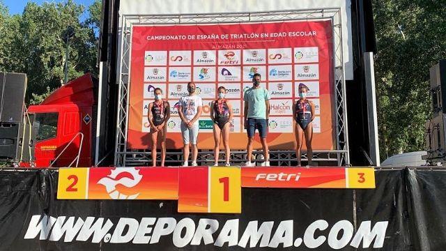 Natalia Hidalgo y Sergio Baxter ganan el Triatlón de Almazán, primer clasificatorio para el campeonato de España distancia olímpica - 5, Foto 5