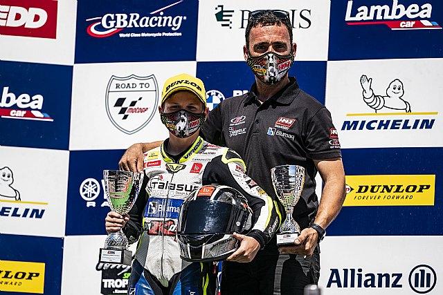 Carlos Cano logra su primera victoria en Moto4 con el H43 Team Nobby - 3, Foto 3