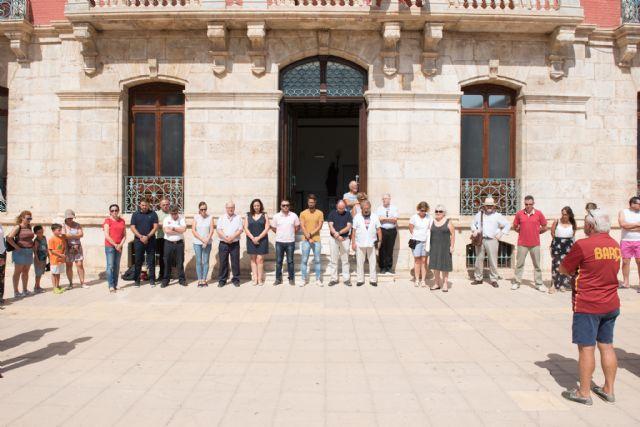 Minuto de silencio en memoria de las víctimas de los atentados de Cataluña - 1, Foto 1