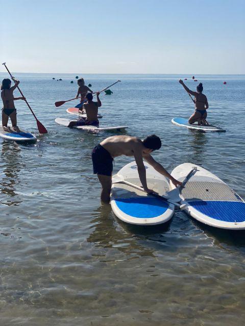 Mazarrón celebra la Semana de la Juventud con actividades acúaticas seguras frente a la Covid-19 - 1, Foto 1