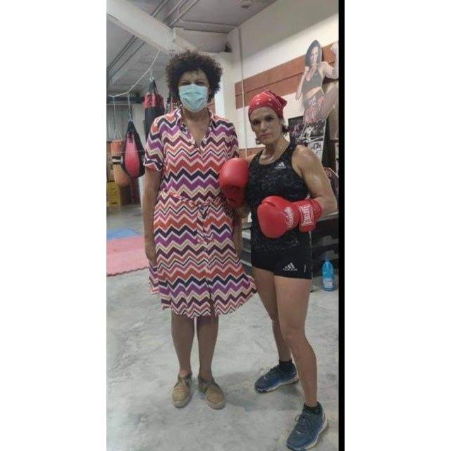 El Ayuntamiento de Puerto Lumbreras instalará una pantalla gigante en el Centro Cívico para seguir el combate de Mari Carmen Romero en su defensa del título europeo de boxeo profesional - 2, Foto 2