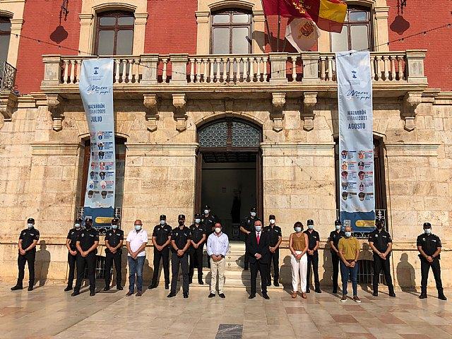 La Policía Local de Mazarrón amplía su plantilla con 12 nuevos agentes en prácticas, Foto 1