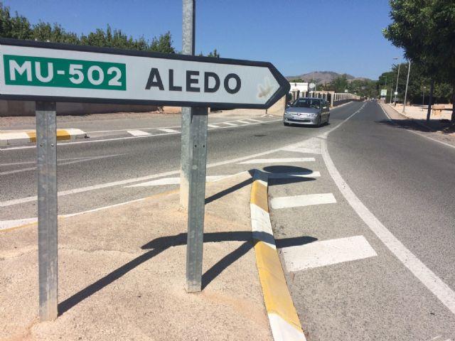 Se solicita la colocación de la señalización necesaria de peligro y advertencia en varias carreteras de Totana muy frecuentadas por ciclistas - 1, Foto 1
