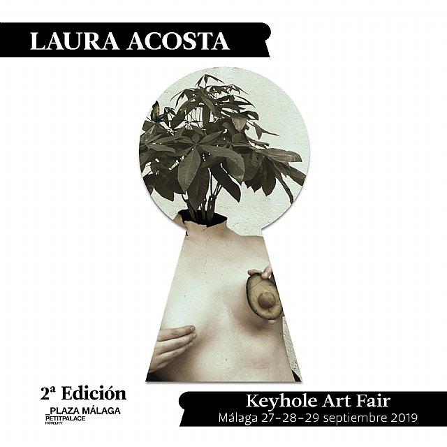La totanera Laura Acosta participará en la 2ª edición de Keyhole Art Fair