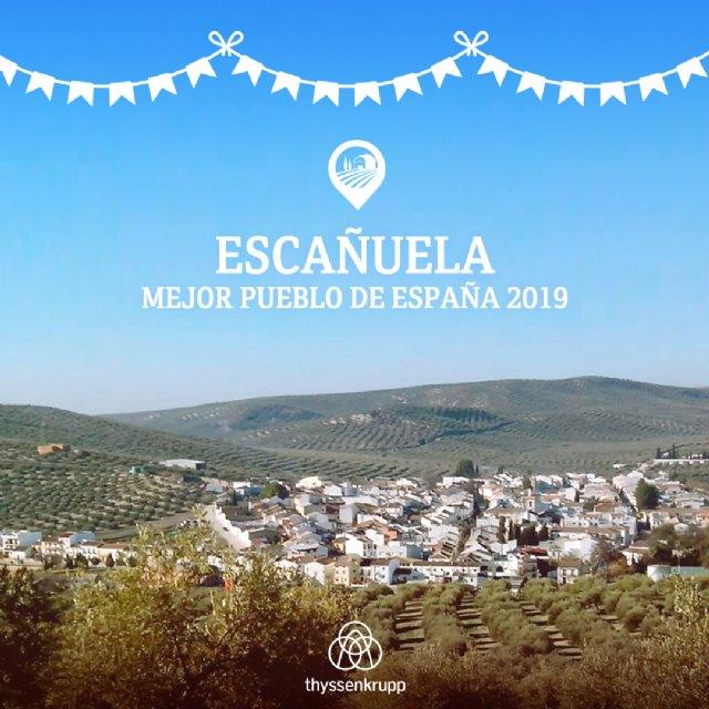 Escañuela en Jaén recibe el premio