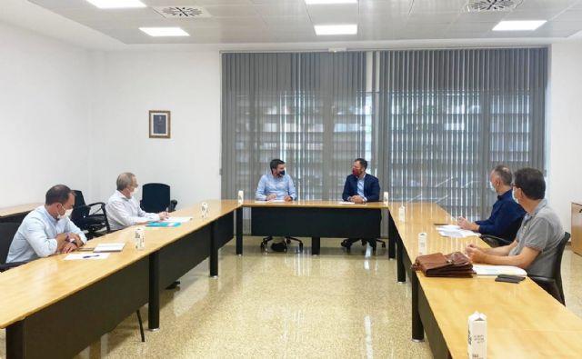 El vicealcalde de Lorca se reúne con la consejería de Medio Ambiente - 1, Foto 1