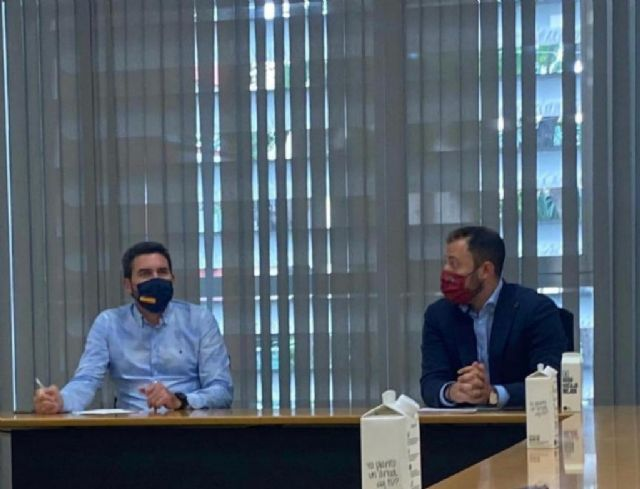 El vicealcalde de Lorca se reúne con la consejería de Medio Ambiente - 2, Foto 2