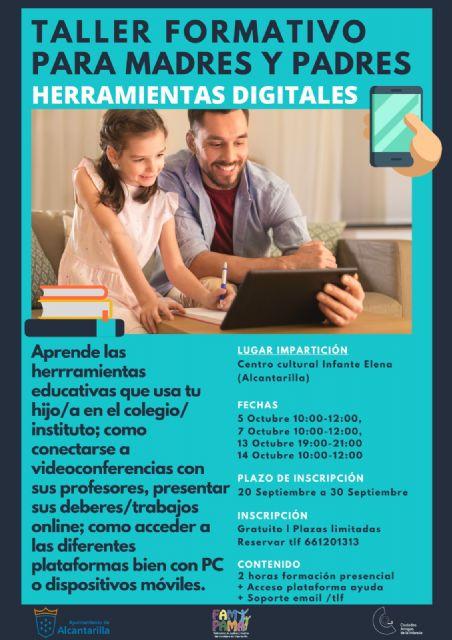 Un taller sobre nuevas tecnologías formará a los padres en las herramientas de educación a distancia de sus hijos - 1, Foto 1