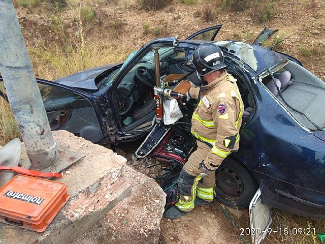 Accidente de tráfico con atrapados en Javalí Nuevo - 2, Foto 2