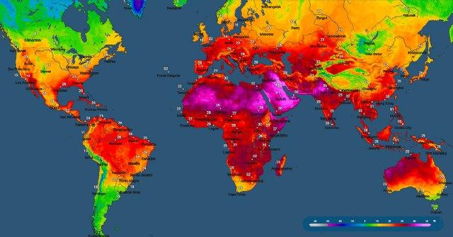 Mapa interactivo de temperatura a escala mundial - 1, Foto 1