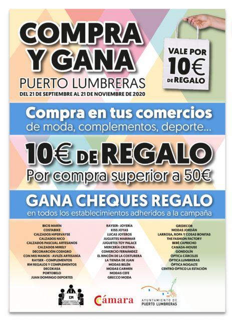 Ayuntamiento de Puerto Lumbreras y Cámara de Comercio impulsan el comercio local a través de la campaña Compra y Gana - 1, Foto 1