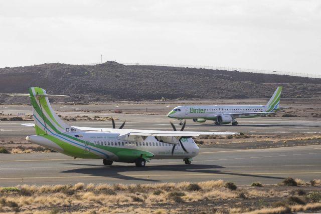 Nueva promoción de binter para volar entre Murcia y canarias desde 72,51 euros - 1, Foto 1