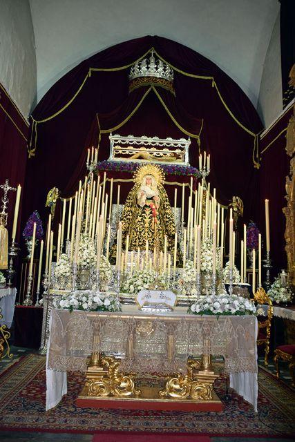 Altar de los Dolores Glorioso de Ntra. Sra. y Solemne Quinario en Honor del Señor de la Misericordia de Alcalá del Río - 1, Foto 1