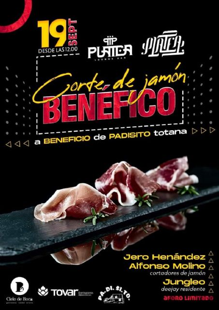 The ham cutting event will be held tomorrow for the benefit of the PADISITO association