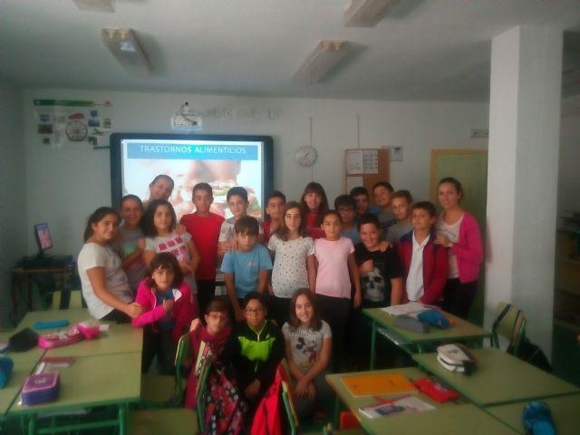 Comienzo del taller trastornos alimenticios en centros educativos - 1, Foto 1