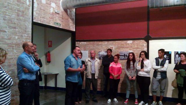 Se inaugura la exposición Miradas al Magreb de Azul en Acción en La Estación de Beniaján - 1, Foto 1