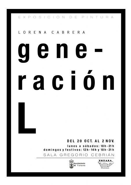 La exposición de pintura de Lorena Cabrera