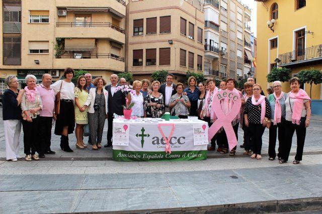 Alcantarilla conmemora en sus calles el Día Mundial contra el Cáncer de Mama, Tu Lucha es mi Lucha - 1, Foto 1