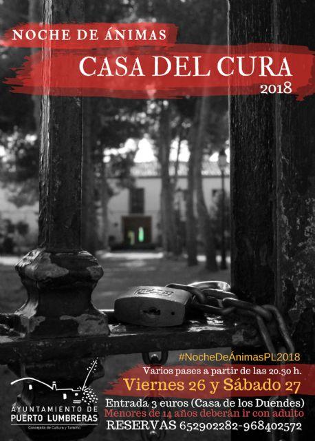 La Casa del Cura acoge una nueva edición de la 'Noche de Ánimas' lumbrerense - 3, Foto 3