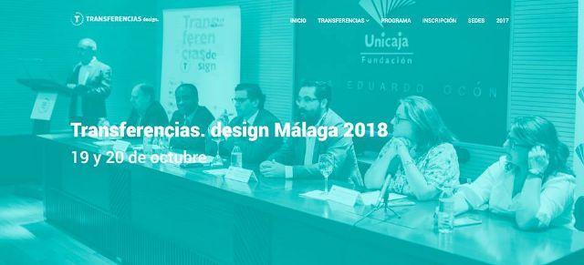 DIP participará en Diseño y sociedad contemporánea. Transferencias.Design Málaga2018 - 1, Foto 1