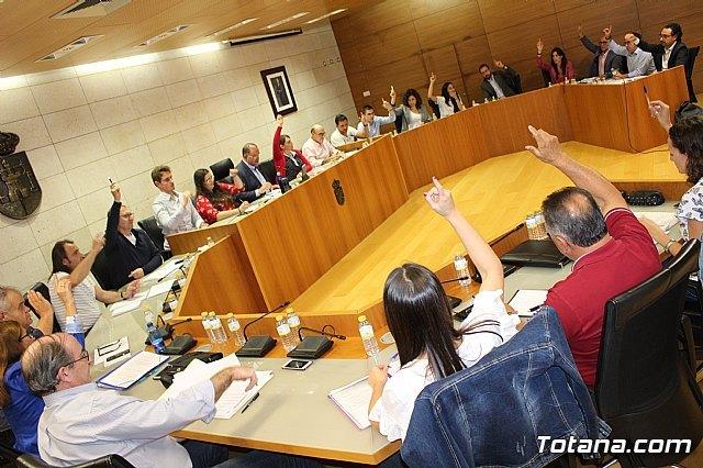 El Pleno aprueba la adhesi�n a las medidas del Ministerio de Hacienda para agrupar en un solo pr�stamo todos los cr�ditos formalizados, Foto 1