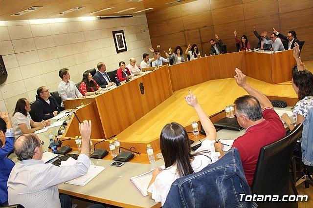 El Pleno aprueba la adhesi�n a las medidas del Ministerio de Hacienda para agrupar en un solo pr�stamo todos los cr�ditos formalizados, Foto 2