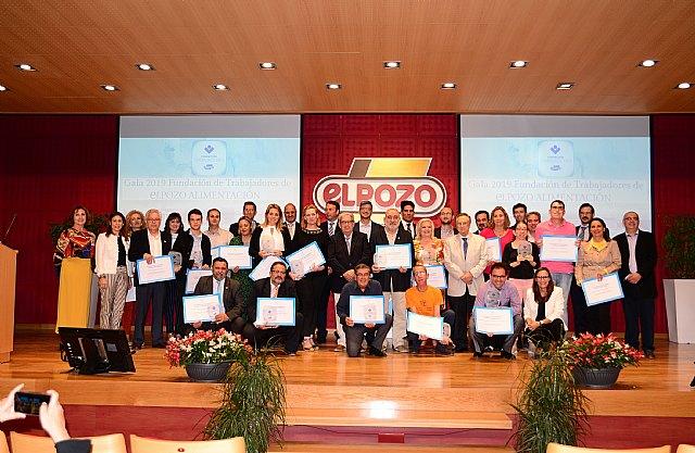 La Fundación de Trabajadores de eLPOZO ALIMENTACIÓN entrega sus ayudas anuales a proyectos sociales, Foto 1