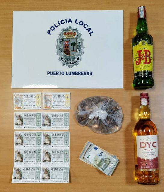 La Policía Local de Puerto Lumbreras detiene al presunto autor de un robo en un bar - 1, Foto 1