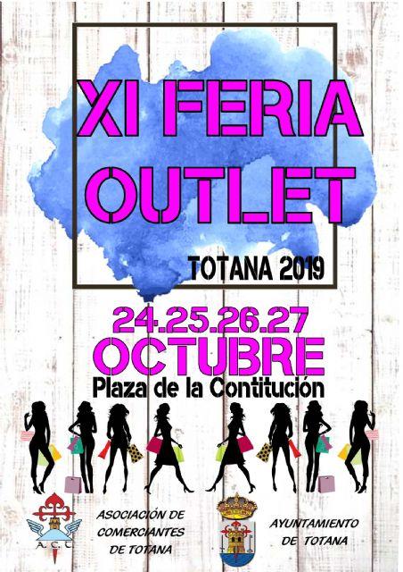 La XI Feria Outlet de Totana se celebrar� en la plaza de la Constituci�n del 24 al 27 de octubre, Foto 2