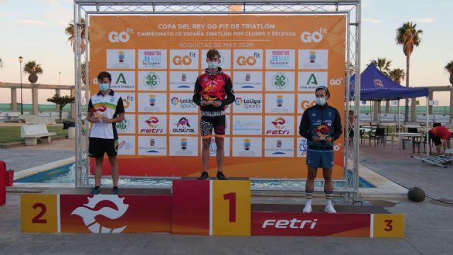 Oro y Plata, para Natalia Hidalgo y Laura Durán, y Bronce para el CT Águilas Primaflor, en el Campeonato de España de Triatlón por Clubes - 1, Foto 1